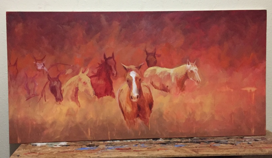 And now thehorses….